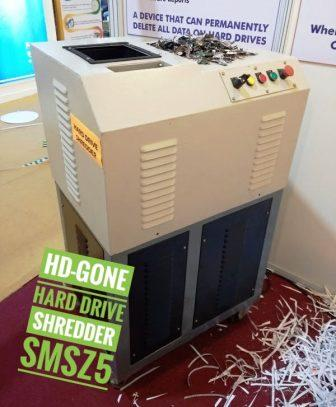Hard Drive Shredder