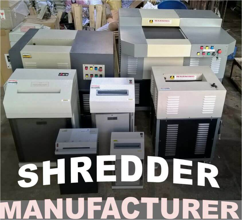 Industrial Shredder Manufacturers India