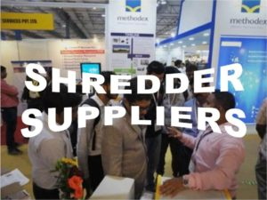 Paper Shredder Machine Suppliers