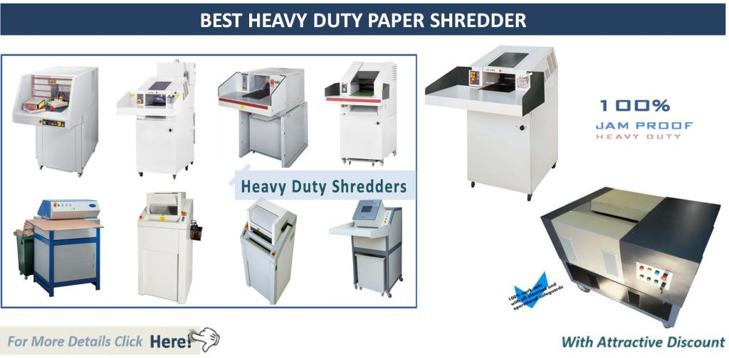 Best Heavy Duty Paper Shredder