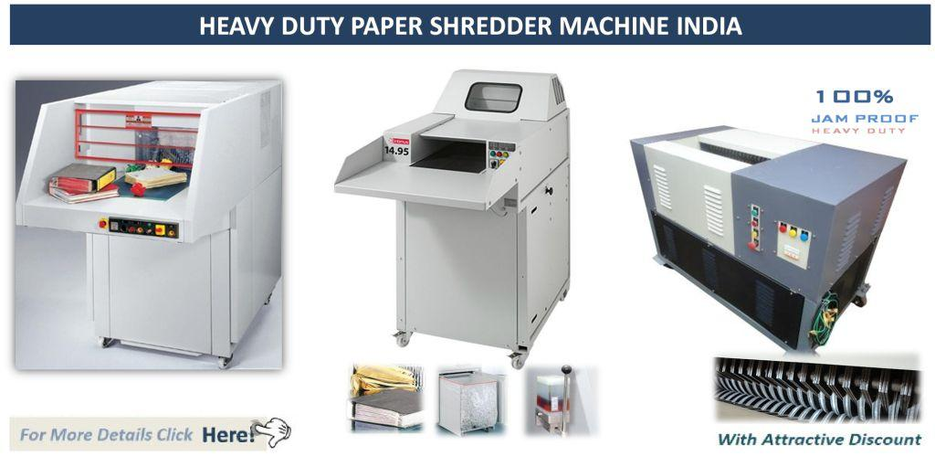 Heavy Duty Paper Shredder Machine India